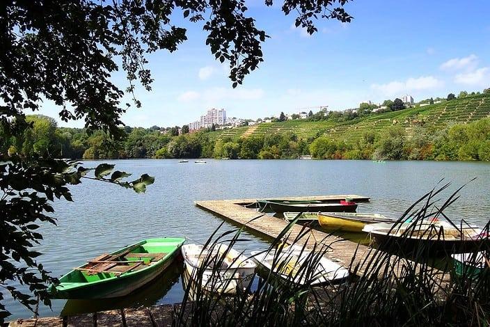 Stuttgart Max-Eyth-Lake