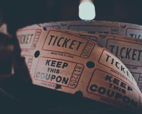 movie tickets in english