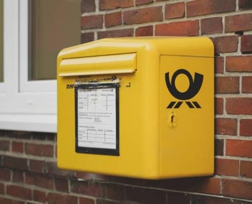 Mailbox Deutsche Post