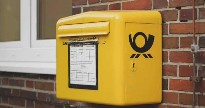 Mailbox Deutsche Post