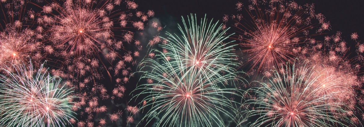 silvester fireworks