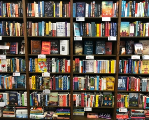 English bookstore