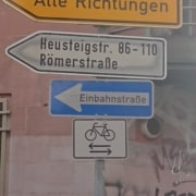 one way but bikes